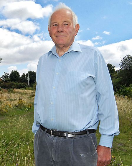 Former Herts police chief inspector Mick Camp, who was a warden at St Mary's.