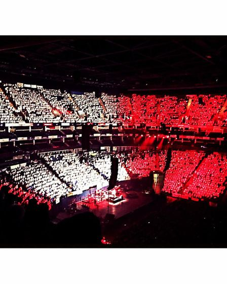 7,495 Young Voices at the O2 Arena. Credit: Layth Yousif
