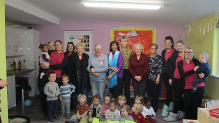 Smarty's Day Nursery in Hitchin has officially opened its new facilities.