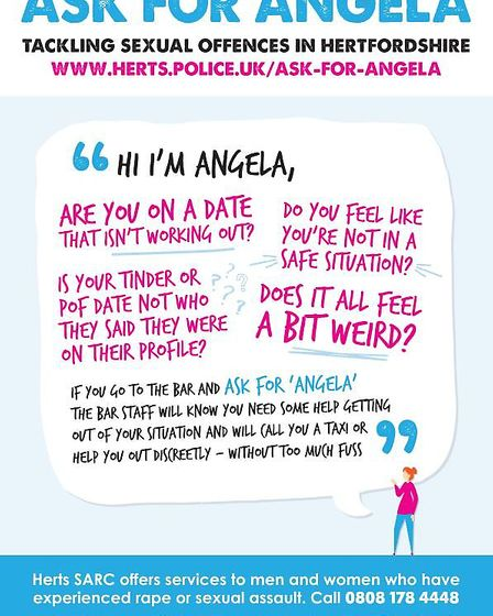 Ask for Angela Poster