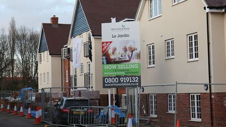 Le Jardin, the McCarthy & Stone retirement development in Letchworth's Station Road.