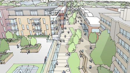 Stevenage First has a framework for the regeneration of Stevenage town centre. Images of what the to