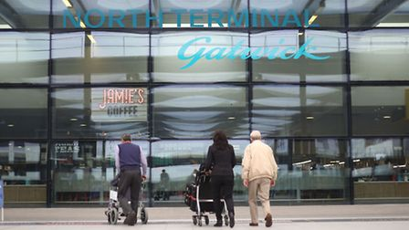 A man from Hertfordshire has been arrested at Gatwick Airport on suspicion of terror offences. Pictu