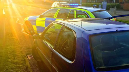 Road police arrest a motorist in Stevenage on suspicion of dangerous driving, driving while unfit th