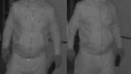 Police want to speak to this man in connection with North Hert burglaries.