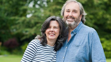 Royston murderer Ian Stewart with his partner Helen Bailey, who he has today been found guilty of ki