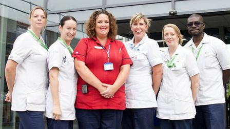 East and North Herts NHS Trust's enhanced care team has been shortlisted for this year's RCNi Nurse