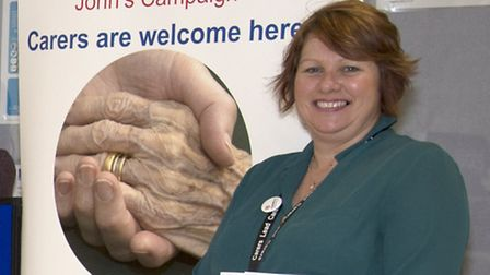 East and North Herts NHS Trust carers lead Jodie Deards has been nominated in the RCNi Nurse Awards.