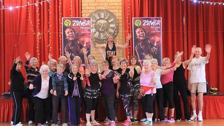 Zumba Gold involves gentle movement and no jumping or twisting