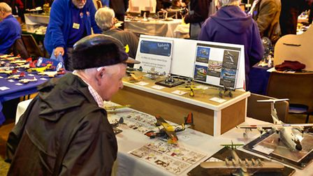 Modellers from across the area came to admire the kits at the show