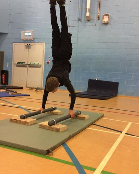 The sport is not just about jumping over objects, it also involves aerobics and gymnastics.
