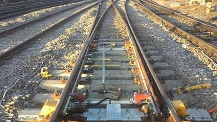 There will be no trains between Hitchin and Peterborough over the next two weekends while tracks nea