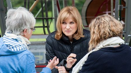 Fiona Bruce at Audley End