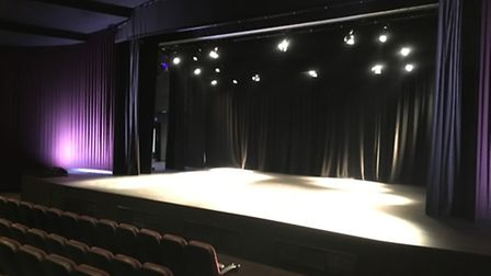 The stage of the Broadway Cinema's new theatre.