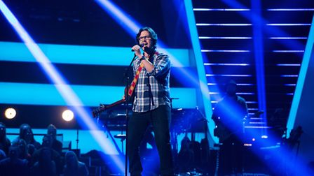 Lawrence Hill on The Voice. Picture credit: Rachel Joseph.