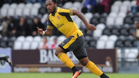Kaylen Hinds. Picture: Arsenal FC