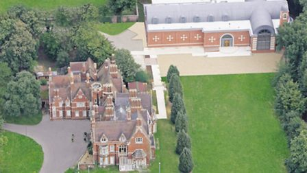 Shephalbury Manor with St George's Cathedral in the grounds.