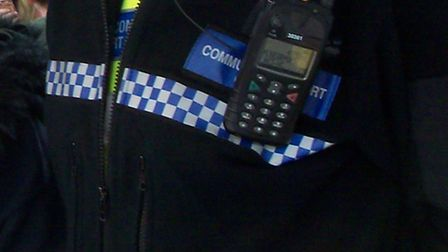 Police have warned of a possible scam in Stevenage after unsolicited scaffolders yesterday visited a