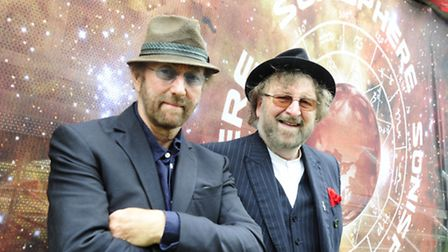 Chas and Dave at Sonisphere 2014 in Knebworth Park [Picture: PG Brunelli]