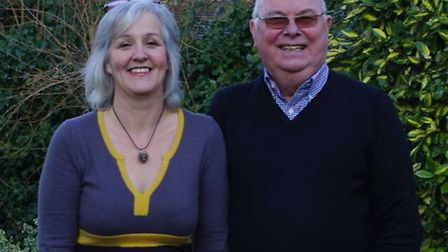 Left to right: Petrina lees and Garry LeCount