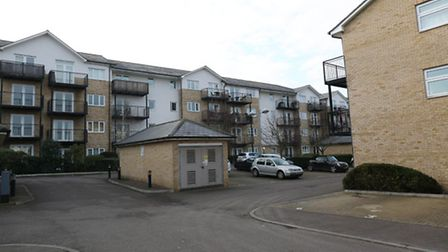 Firefighters rescued a man from a first floor flat in Sharps Court on Cooks Way, Hitchin.