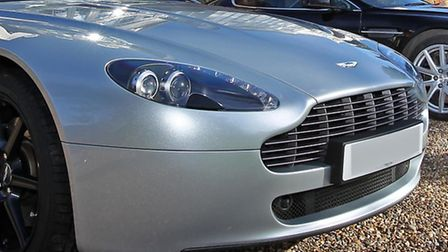 An Aston Martin similar to that involved in the crash. File photo. Credit: Danny Loo