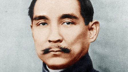 Sun Yat-sen, pictured as provisional president of the Republic of China in 1912.