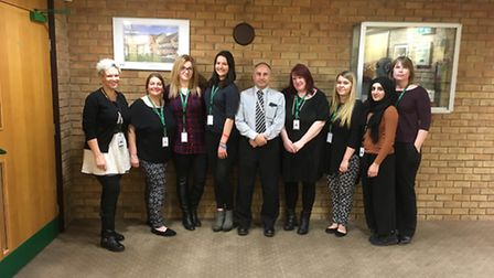 Stevenage Borough Council's anti-social behaviour team which tackles domestic abuse in all its forms