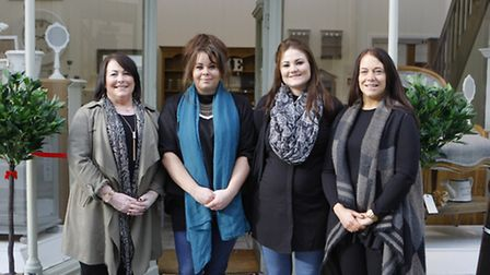 Love and Chairish opens on Saturday. Owners Louise Butler, Miranda Hibbert, Laura Stearman and Sue B