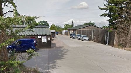 Shangri-La Farm, on the outskirts of Stevenage, where cannabis was produced in Unit 10. Picture: Goo