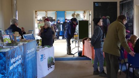 The RSPB Giving Nature a Home festival at The Lodge in Sandy. Photo: RSPB