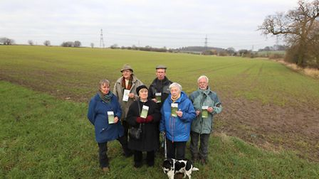 Forster Country campaigners, Anne Conchie, John Alabaster, Angela Hepworth, James Green, Margaret As