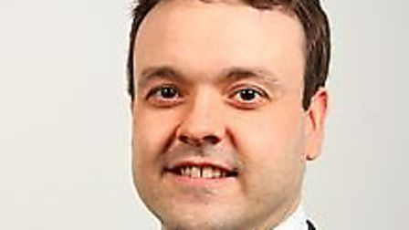 Stevenage MP Stephen McPartland said he saw 'brave police officers and security pulling public insid