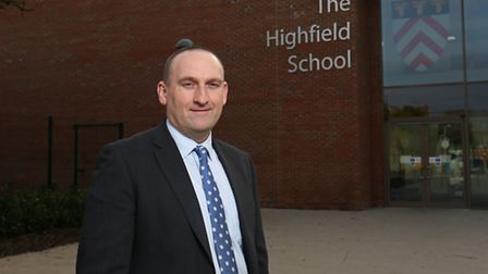 Alistair Holmes has been nominated for Teacher of the Year.