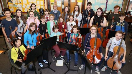 North Herts Music School are playing a concert with Hitchin Chamber Orchestra. Picture: Kevin Lines