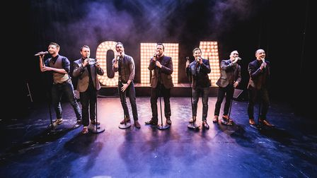 Only Men Aloud performing at The Great British Prom