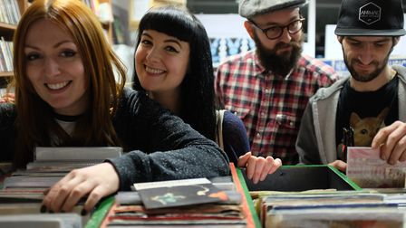 Get ready for Record Store Day at the wonderful David's Music.