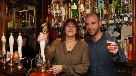 Red Lion pub landlady and landlord Jo and Ray Lambe have won CAMRA North Herts ale pub of the year.