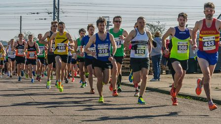 Sandy 10 runners. Picture: Paul Langshaw Photography