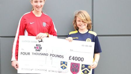 The event raised £4,000 for charity.