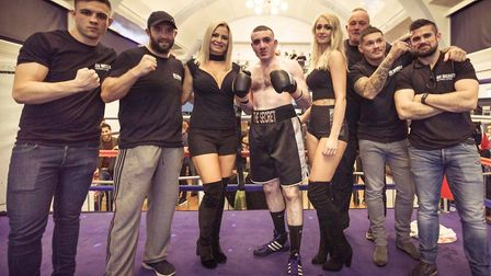 Tirrell Promotions' boxing night at Hitchin Town Hall. Picture: supplied