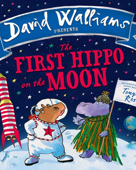 David Walliams' book The First Hippo on the Moon.