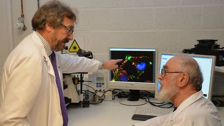Professor Geoffrey Pilkington, who has led research backed by Animal Free Research UK into brain tum