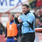 Manager Darren Sarll says the mood is still one of confidence in the play-off chasing Stevenage camp
