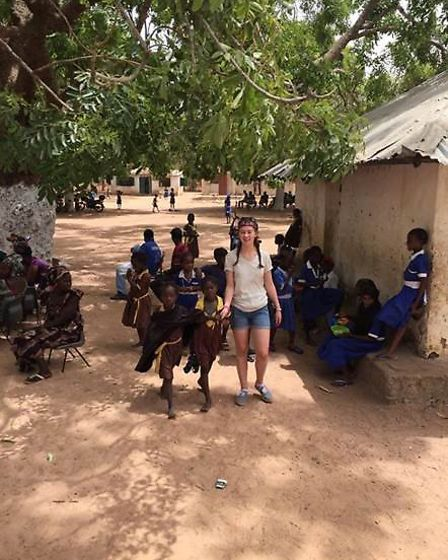 Travelling to the Gambia was a moving experience for the volunteers