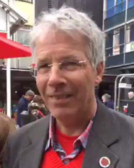 Labourt Party candidate for Shephall and Bandley Hill in Stevenage Jim Brown