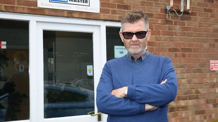 Peter Dodson is fed up with the lack of progress being made in the roadworks along the A600 after se