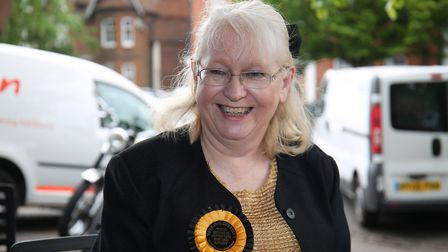 Monster Raving Loony Candiate for Mid Beds Ann Kelly. Picture: Danny Loo