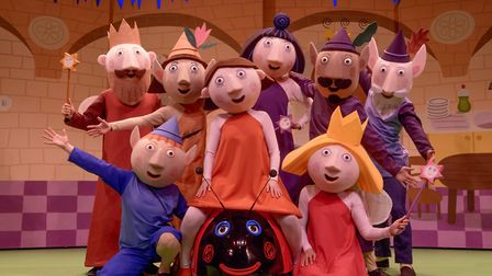 Ben and Holly's Little Kingdom Live can be seen at the Gordon Craig Theatre in Stevenage [Picture: D