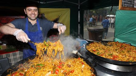 How about it, Baldock? A spicy offering at last year's Letchworth Food & Drink Festival. Picture: Ha